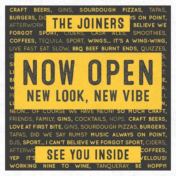 Joiners Arms Logo