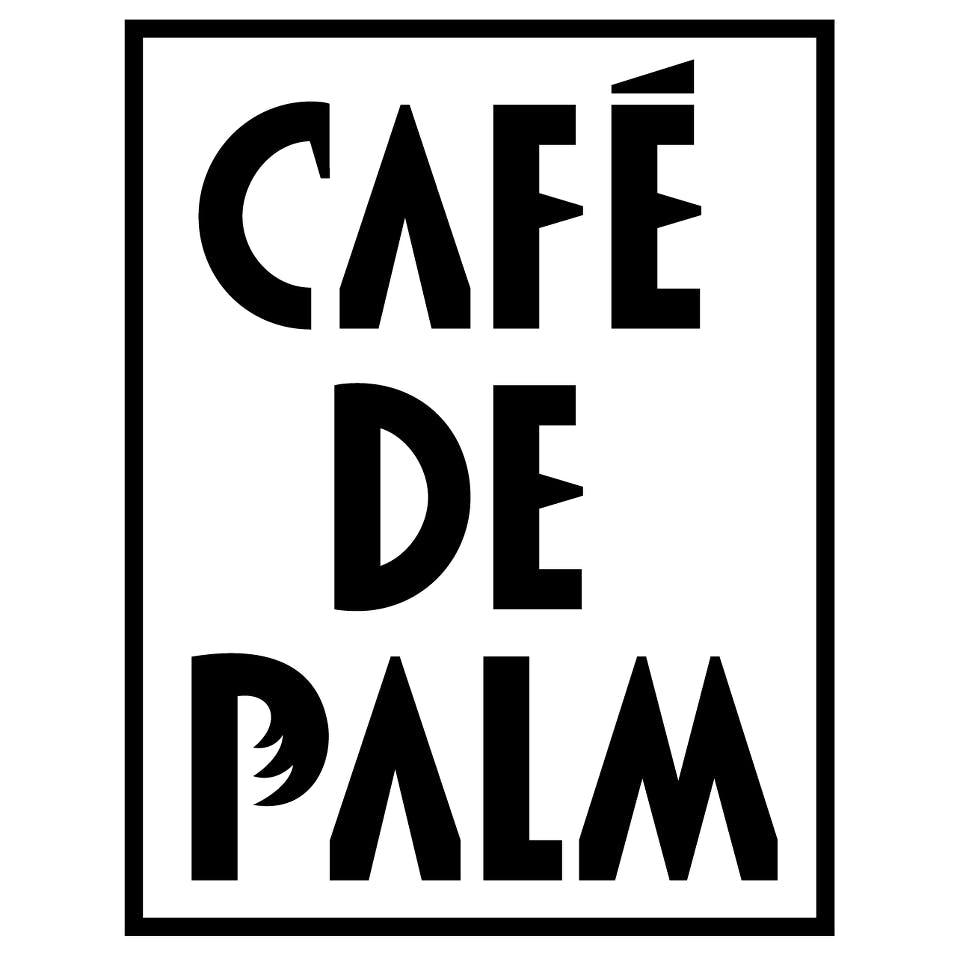 Cafe De Palm Logo