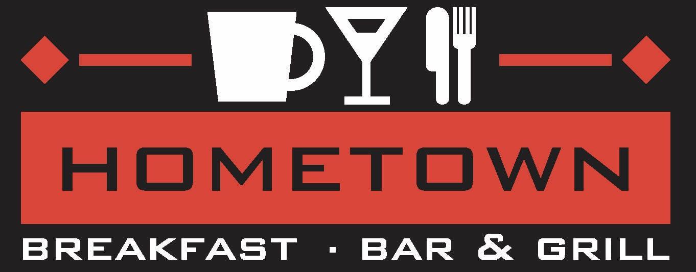 Image result for Hometown Breakfast Bar & Grille logo