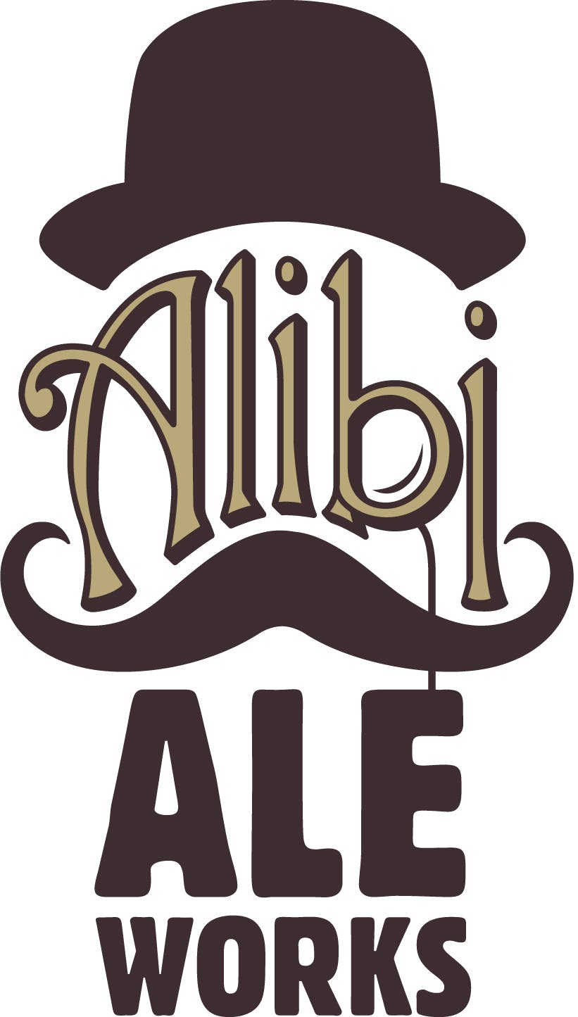 Alibi Ale Works - Brewery and Taproom Logo 53f55109a9