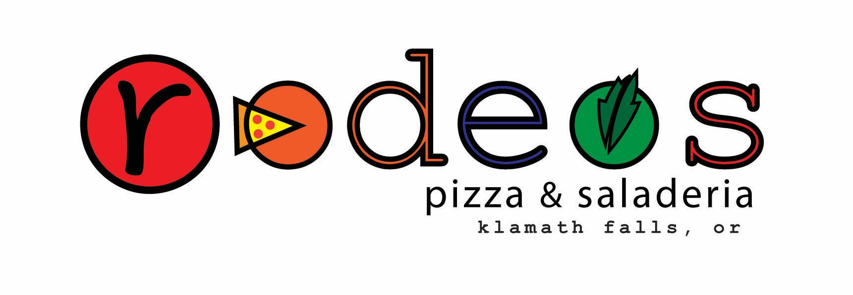fb4842d422ade Rodeos Pizza   Saladeria Logo